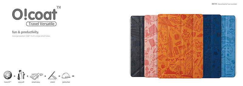 Ozaki O!coat-Travel Versatile для iPad Air 2